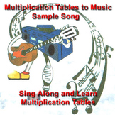 Sample Multiplication Tables to Music - Two times tables track from the CD