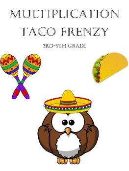Multiplication Taco Frenzy