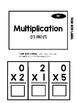 Multiplication Task Box 0's and 1's
