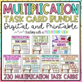 Multiplication Task Card Bundle