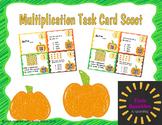 Multiplication Task Card Scoot VA SOL 3.5 & 3.6