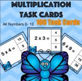 Multiplication Task Cards 0-10