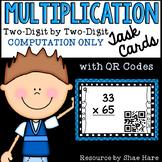 Multiplication Task Cards - 2-Digit by 2-Digit COMPUTATION