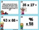 Multiplication Task Cards~ 2 Digit by 2 Digit Problems with Optional QR Codes