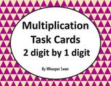 Multiplication Task Cards (2 digit by 1 digit)