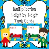 1 Digit by Single Digit Multiplication Task Cards 3rd Grade Math Activity 3.OA.7