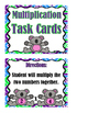 Multiplication - Task Cards