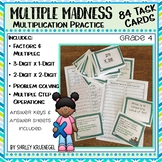 Multiplication Task Cards 4th Grade