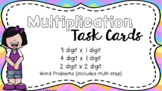 Area Model Multiplication Task Cards