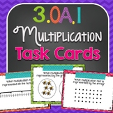 Multiplication Task Cards {3.OA.1}