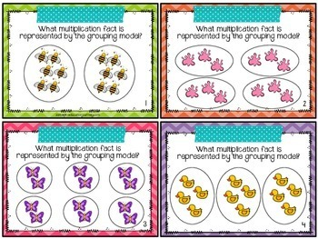 Multiplication Task Cards {3.OA.1}