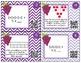 Multiplication QR Code Task Cards, 3rd Grade (Envision)