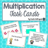 Multiplication Task Cards - 3rd Grade Common Core