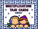 3 Digit by 2 Digit Multiplication (Winter Theme) 5.NBT.B.5