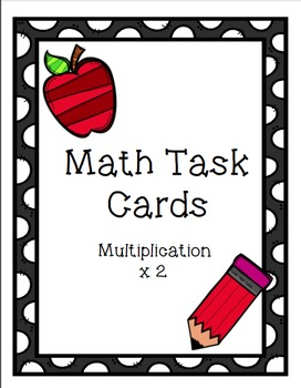 Multiplication Task Cards Bundle