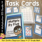 3rd Grade Go Math Chapter Four Multiplication Facts Strategies Task Card Bundle