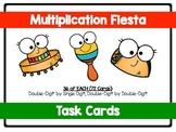 Multiplication Task Cards-Fiesta Themed! (QR VERSION)