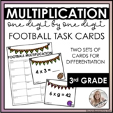 Multiplication Task Cards | Football / Super Bowl Theme | DIFFERENTIATED