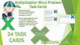 Multiplication Task Cards (Multi-Step)