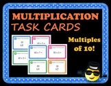 Multiplication Task Cards Multiples of 10