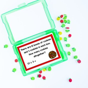 Multiplication Task Cards (Number Stories/Word Problems)