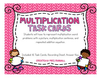 Multiplication Task Cards (Scoot)
