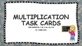 Multiplication Task Cards Supports TEKS; 3.4G,4.4B,4.4D,4.4H