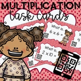 Multiplication Task Cards | With QR Codes