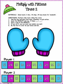 Multiplication  Task Cards and Craftivity