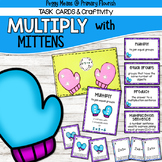Multiplication Task Cards (3rd Grade) and Craftivity