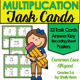 Multiplication Task Cards and Poster Set
