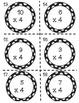 Multiplication Task Cards x4