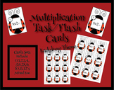 Multiplication of Basic Facts Task/Flash cards {Ladybug Theme}