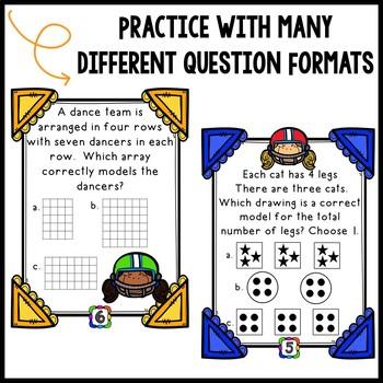 Multiplication Test Prep CCSS Aligned
