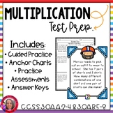 Multiplication Test Prep CCSS Aligned
