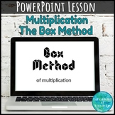 "Multiplication ""The Box Method"" PowerPoint"