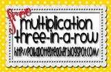 Multiplication Three in a Row