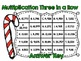 Multiplication Three in a Row-Christmas-2 and 3 digit by 2 digit