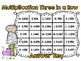 Multiplication Three in a Row-Halloween-2 Digit by 2 Digit