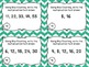 Multiplication Through Skip Counting - 24 Task Cards