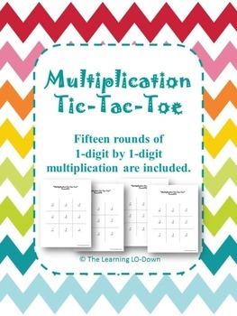 Multiplication Tic Tac Toe: Basic Facts