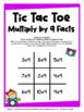 Multiplication Free: Multiplication Facts Tic Tac Toe Mult