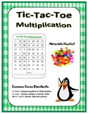 Multiplication Tic Tac Toe...with a Twist!