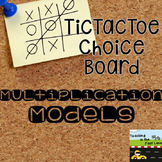 Multiplication TicTacToe Choice Boards Extension Activities