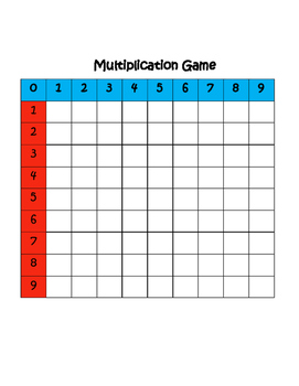 Multiplication Tile Game