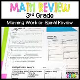 Third Grade Math Review Worksheets   Year Long Morning Work
