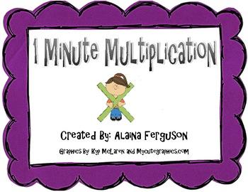 Multiplication Timed Test 1-12