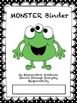 Monster Binder Covers