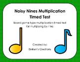 Multiplication Timed Tests Bundle