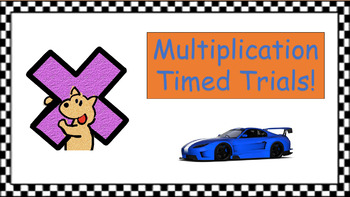 Multiplication Timed Trials